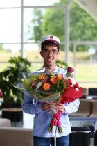 Tillykke til vores første student!🇩🇰️ Mandag