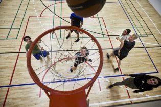 Basket i hallen