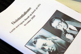 Elever fra Taastrup Realskole til fagdag på HTG om eksistentialisme