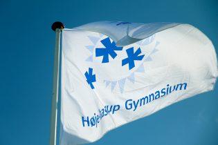Høje-Taastrup Gymnasiums flag